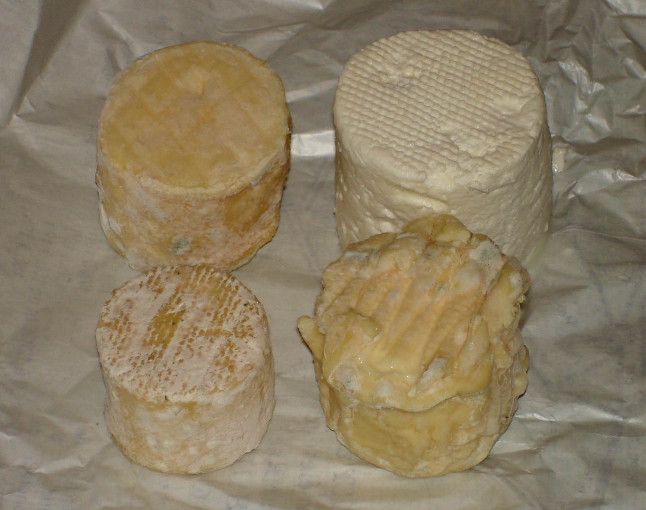 Chauvry Fromage de chevre assortiment